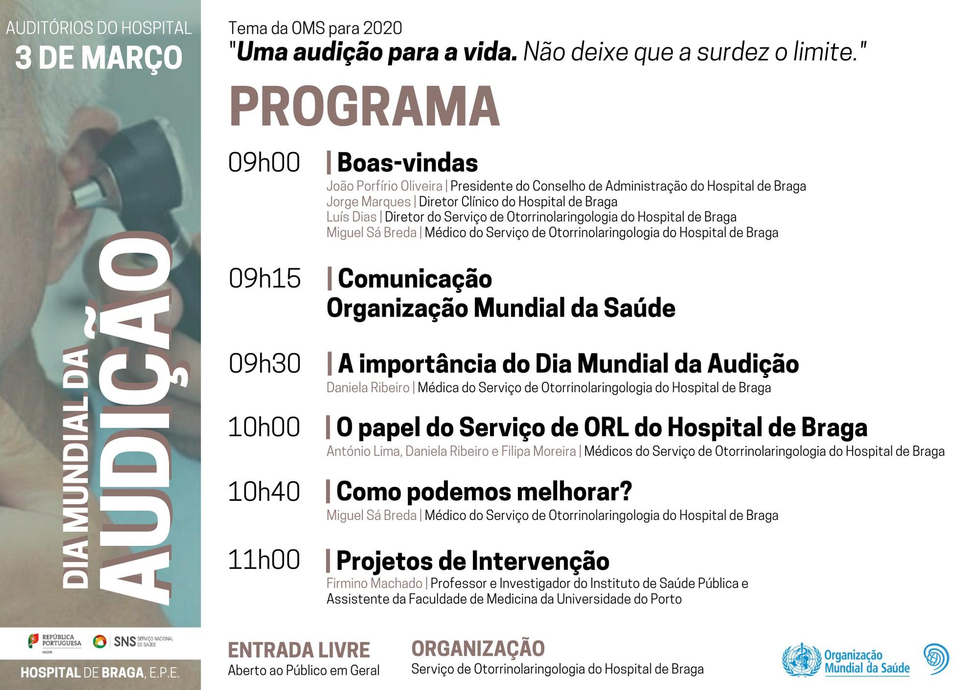 hospital-de-braga-Dia Mundial da Audição - Tertúlia