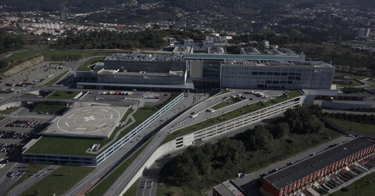 hospital-de-braga-Acesso livre aos parques de estacionamento exteriores