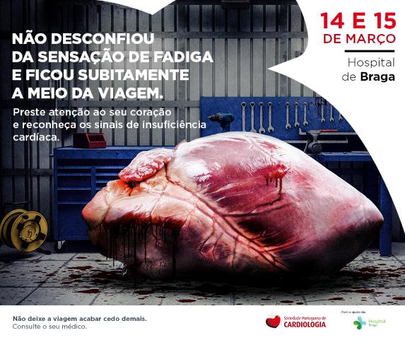 hospital-de-braga-Hospital recebe campanha de sensibilização sobre insuficiência cardíaca