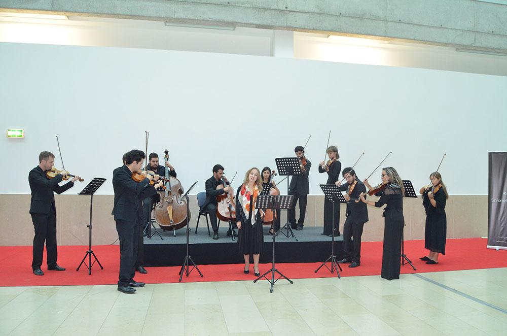 hospital-de-braga-Sinfonietta promoveu concerto de música clássica na entrada principal do Hospital de Braga