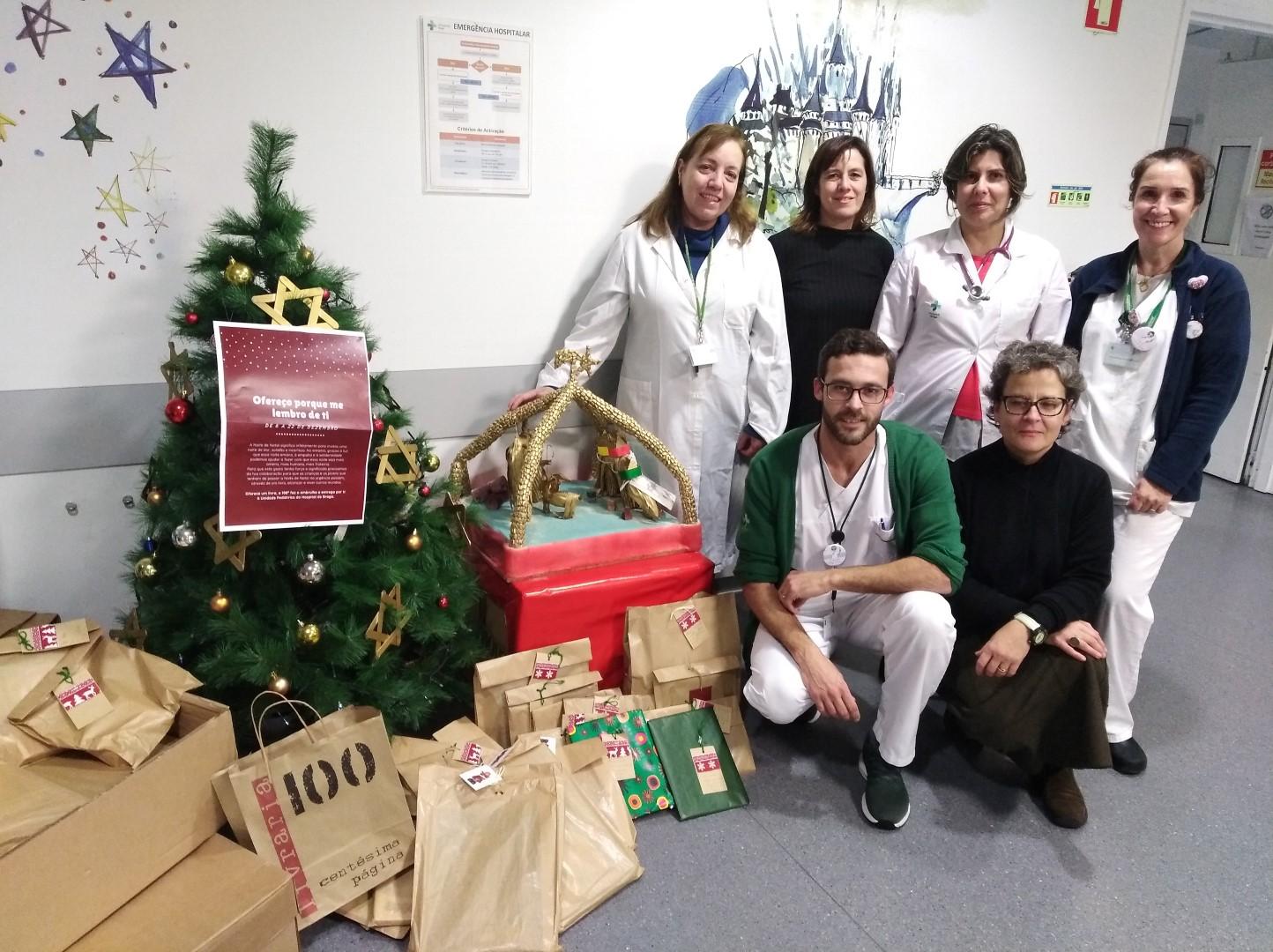 hospital-de-braga-Urgência Pediátrica recebeu livros