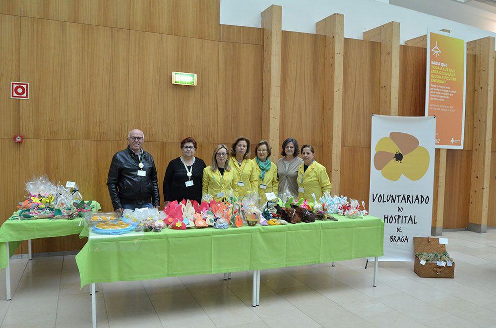 hospital-de-braga-Voluntariado promoveuBazarde Páscoa