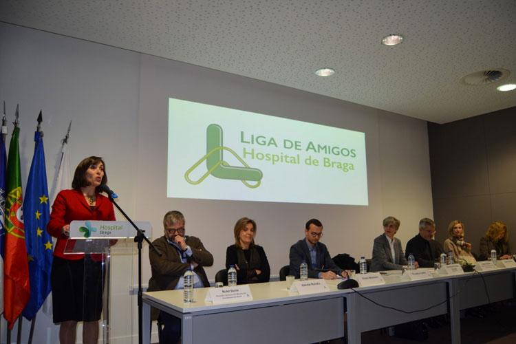 hospital-de-braga-Toma de posse dos órgãos sociais da liga de amigos do hospital de Braga